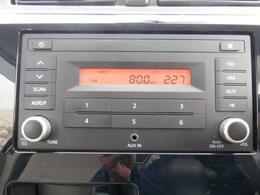 純正AM、FMラジオ