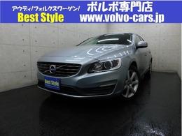 ボルボ V60 D4 SE ディーゼルターボ インテリ/黒革/純ナビ/Bカメラ/1オナ/保証