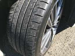 タイヤの溝はまだまだしっかりと残っておりますので、ご購入後も安心して乗っていただけると思います!!