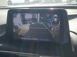 後方視界に便利なバックカメラ装備です。