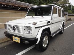 メルセデス・ベンツ Gクラス G320 ロング 4WD 前期最終モデル白フルオリジナル職人仕上