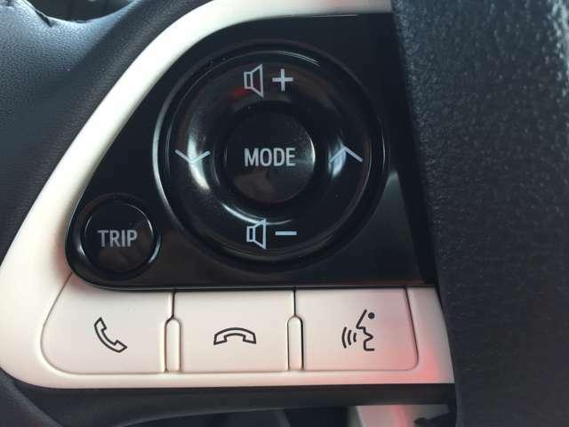 「ステアリングスイッチ」 オーディオの操作が手元でできます♪前を見たまま操作できるので安心です!