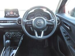 エアコンスイッチ等、車で運転する際に必要な機能のスイッチが運転席から操作しやすい位置にあるため便利です。