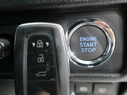 【スマートキー&スタートシステム】携帯したスマートキーを取り出すことなく、ドアの施錠・解錠が可能で、ワンプッシュでエンジンがスタート!!
