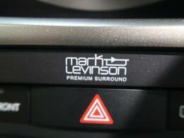 ●【マークレビンソン製スピーカー】装備!アメリカを発祥とする高級オーディオブランドです。『原音を忠実に、ライブの感動を再現する』がブランド哲学です!