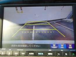 リアカメラが付いてるので駐車の際にも安心です!
