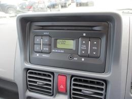 純正オーディオ装備です!ラジオはもちろん、CDにAUXまで装備しています!CDがあるのは嬉しいですね!