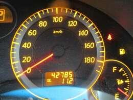 走行距離42,785kmです。