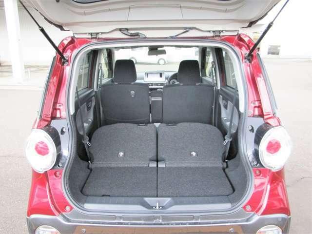 日常のお荷物からトランクケースまで気軽に収納していただけるスペースを確保しています。