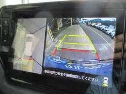 ★パノラミックビューモニター★4個のカメラから得た画像を車両上方から見下ろしたような映像で表示することで、車と路面の駐車枠の関係を一目で確認できます!