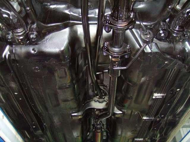 Aプラン画像:下回りの防錆塗装施工♪黒塗り仕上げでご納車致します!※画像は参考画像です