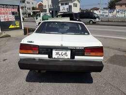 昭和を一世風靡した名車!!レトロ感味わえます