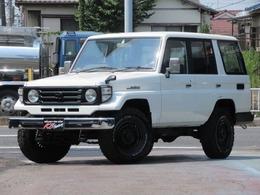 トヨタ ランドクルーザー70 4.2 LX ディーゼル 4WD NOX適合 DEANホイール 76フェイス
