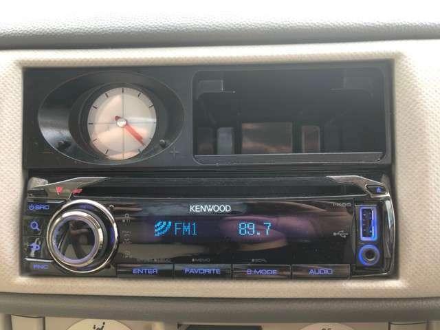 タイベル交換済 キーレス 社外オーディオ CD AUX エアコン パワステ パワーウィンドウ 運転席助手席エアバッグ ABS 電格ミラー ベンチシート