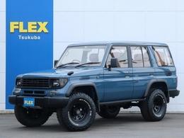 トヨタ ランドクルーザープラド 3.0 SXワイド ディーゼルターボ 4WD アルルブルー新品塗装 内張張替