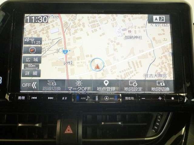 基本性能充実のSDナビ(フルセグテレビ付)を搭載!!初めての道や遠出でも安心です♪