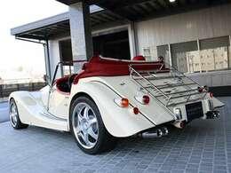 ◆ホワイト(スペシャルボディカラーペイント) ◆モヘアライナー付二重生地ソフトトップ:レッド ◆新車時18,252,000-