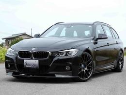 BMW 3シリーズツーリング 320i Mスポーツ WORK20AW 車高調 カーボンエアロ