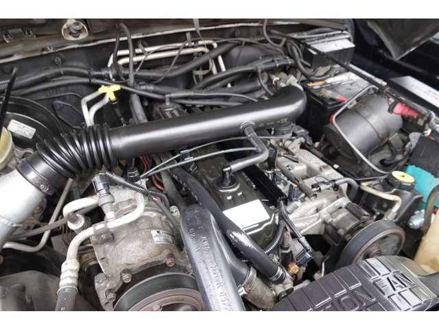 エンジンはとても綺麗で、もちろんエンジン好調です☆