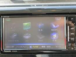 Bluetoothの接続でスマホの音楽を聞いたりTVやDVDも見れるナビゲーション!