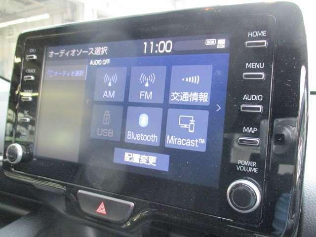 ★ディスプレイオーディオ★スマホをクルマとつなぐだけで、使い慣れたスマホアプリをディスプレイオーディオ上で気軽に使えます。またハンズフリー通話など、運転中でも操作できるため安心です。