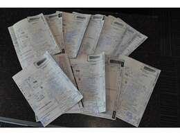 ディーラー整備記録簿多数ございます。H16・H20・H21・H22・H23・H24・H25・H26・H28・H29・H30・R1・R2年。(すべてホンダディーラーにて)