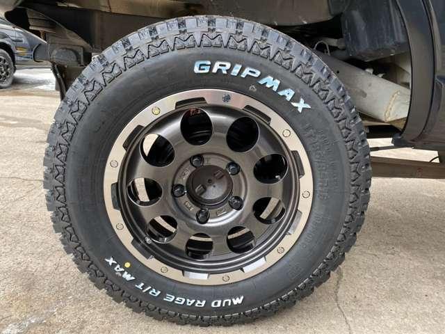 新品LEHRMEISTER-CS-9・GRIPMAX R/T185-85R15!