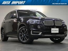 BMW X5 xドライブ 35d xライン 4WD セレクトP 7人乗り 黒革 純正ナビ ACC LCW