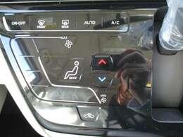 エアコンの温度調整や風量調整も簡単にできます。