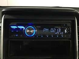 社外品CDラジオ付きです☆