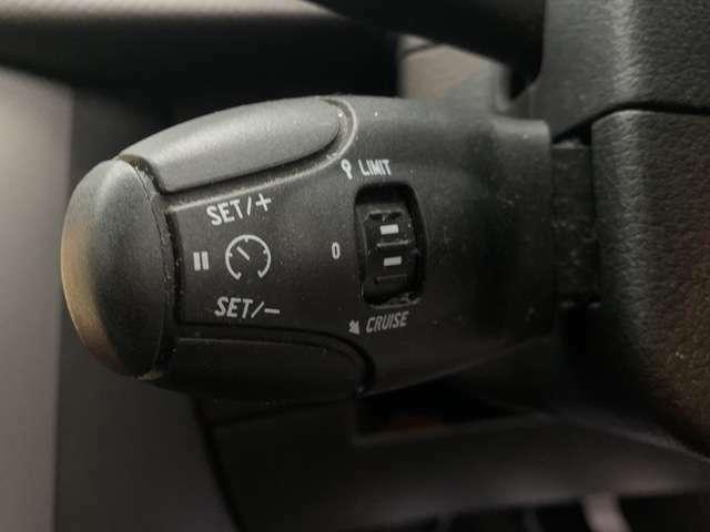 クルーズコントロール機能が付いていますので高速道路等を走る際にスピードを設定するだけでアクセルを踏まずに走ることができます♪