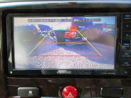 社外ケンウッドメモリーナビ付♪ ガイド線付きバックカメラで駐車も安心ですね♪ 広角のカメラを使用しております♪