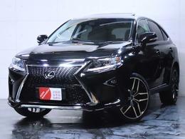 レクサス RXハイブリッド 450h バージョンL エアサスペンション 4WD 新品エアロ 新品ライト 新品22インチAW