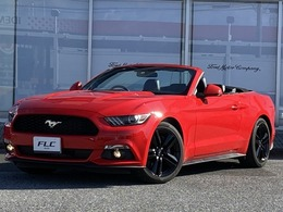 フォード マスタング 2.3Ecoboost コンバーチブル UK仕様右ハンドル デモカーアップ
