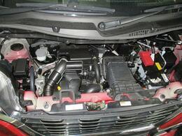 水冷直列3気筒DOHC12バルブICターボ+モーター☆