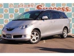 トヨタ エスティマハイブリッド 2.4 G サイドリフトアップシート装着車 4WD ETC 4WD 1オナ 純ナビ Bカメ
