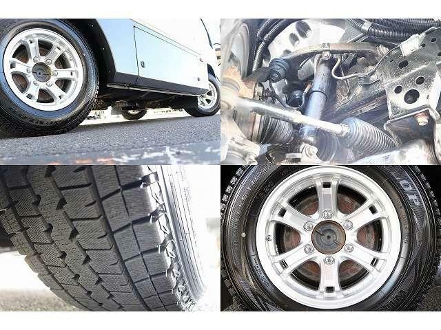 215/70R15アルミホイール 4WD