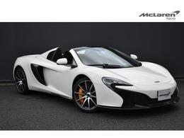 マクラーレン 650Sスパイダー 3.8 McLaren Qualified 認定保証 スポーツPKG