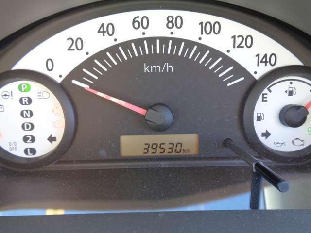 メータ!39530キロ!走行少なめ!