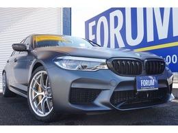 BMW M5コンペティション 4.4 4WD BBS鍛造20インチAW AKRAPOVICマフラー