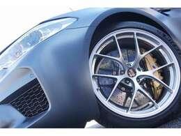 (OP)Mカーボンセラミックブレーキシステム BBS超超ジュラルミン鍛造1ピースホイール(ダイヤモンドシルバー) 20インチ F9.5J 275/35-20 R10.5J 285/35-20