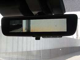 後方視界の良いデジタルインナーミラー装備