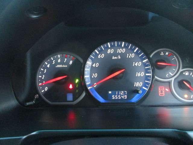 走行距離は、55,543kmですよ。