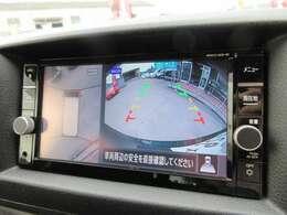 純正SDナビ付♪ ガイド線付きバックカメラで駐車も安心、アラウンドビューモニター付きで死角もなく安心ですね♪