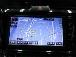 ナビ付なので、遠出の際も道に迷うことはありません♪安心してドライブをエンジョイして下さい♪(NSCP-W64)