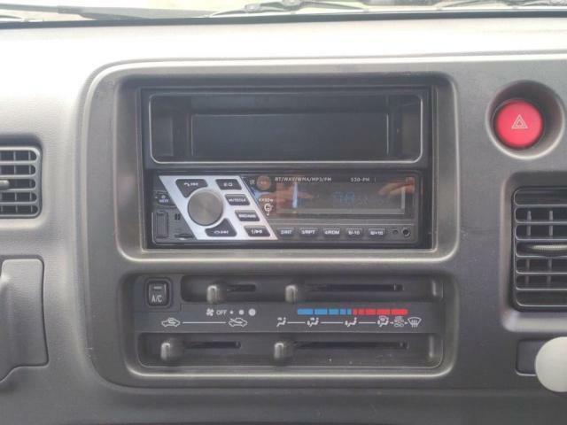 ラジオやエアコンも付いてます!