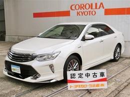 トヨタ カムリハイブリッド 2.5 Gパッケージ プレミアムブラック フルエアロ ナビ Bモニタ- ETC