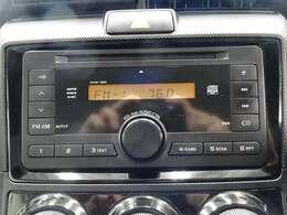 CD・FM/AMチューナー装備です♪お好きな音楽と供にドライブはいかがでしょうか♪