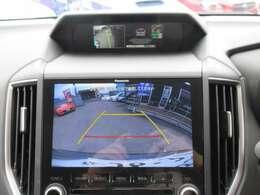 純正8型SDナビ付♪ ガイド線付きバックカメラで駐車も安心ですね♪ 広角のカメラを使用しております♪