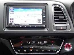 ホンダ製ギャザズ8インチメモリーナビを搭載!インターナビでお客様の快適なドライブをサポート致します